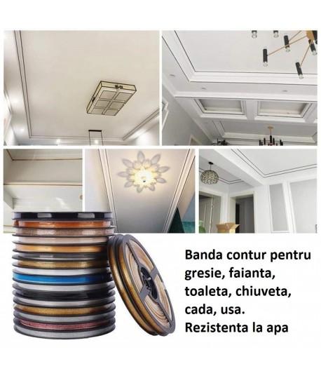 Banda decorativa gresie, faiata, toaleta, bucatarie