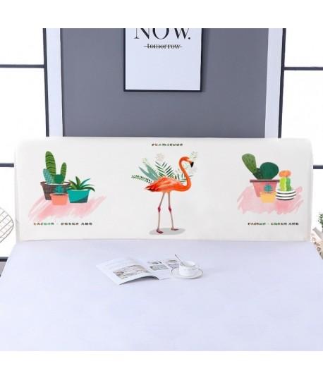 Husa tablie 150 cm flamingo