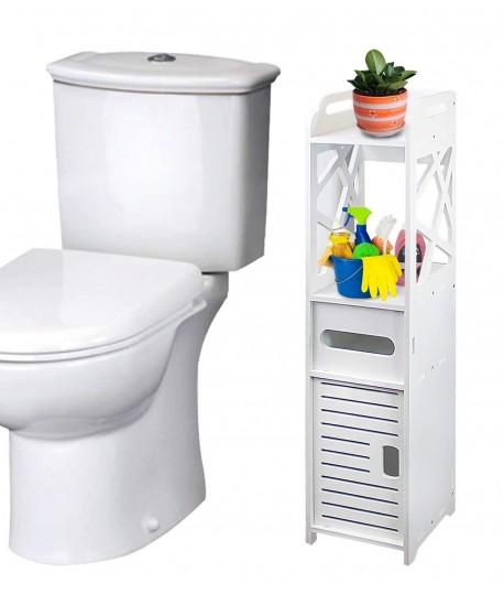 Organizator toaleta cu suport rola de hartie