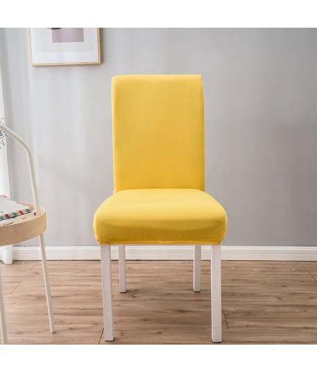 Husa scaun universala spandex/ Galben
