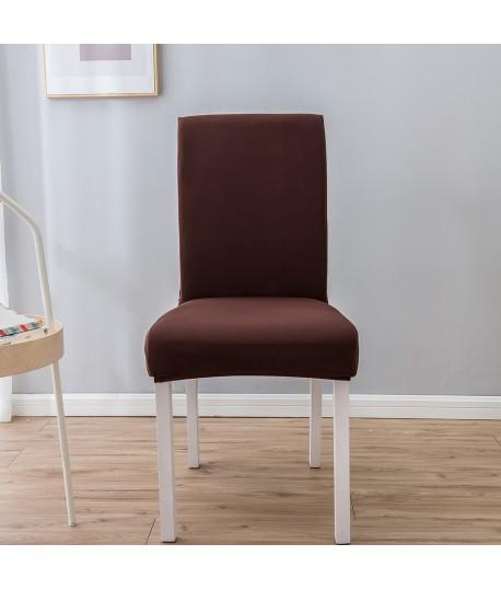 Husa scaun universala spandex/ Maro inchis wenge