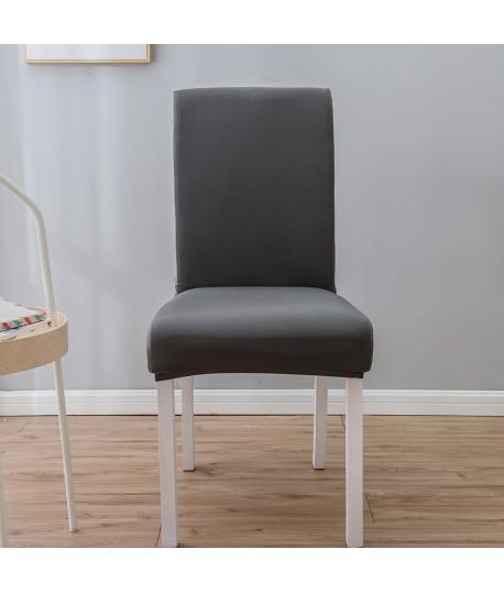 Husa scaun universala spandex/ Gri inchis