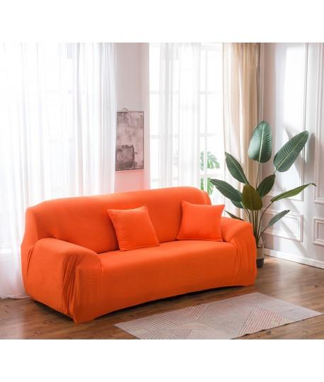 Husa canapea XXL 4 locuri Orange Microfibra model nou