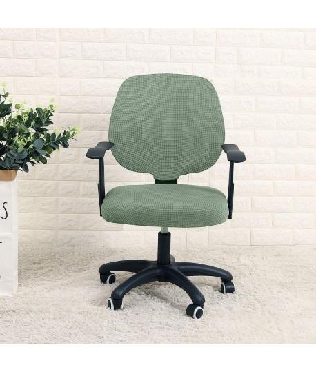 Husa scaun birou verde-turcoaz