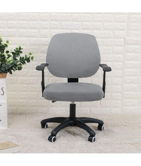 Husa scaun birou gri