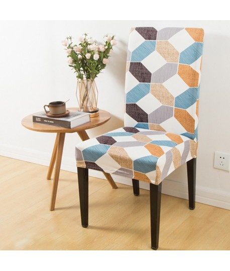 Husa scaun universala spandex/ Mosaic
