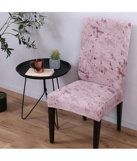 Husa scaun universala spandex/ Pink-Marble