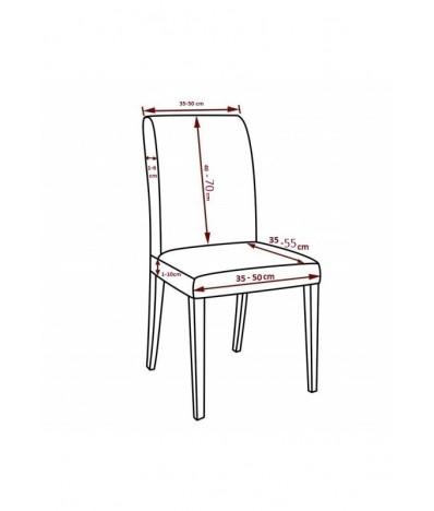 Husa scaun universala spandex/ Deco