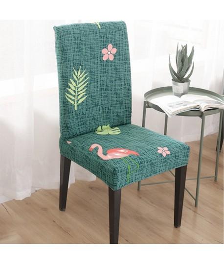 Husa scaun universala spandex/ Flamingo
